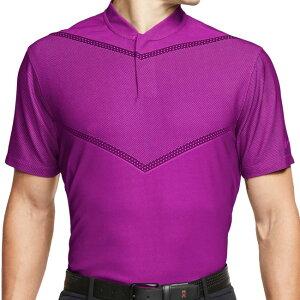 [タイガーウッズ][USサイズ]ナイキ(NIKE) 2020 メンズ DRI-FIT TW ブレード ポロシャツ CT3797-551 ビビッドパープル(20y10mゴルフ)[次回使えるクーポンプレゼント]