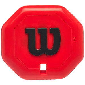 [CLASH&BLADEシリーズ用]ウィルソン(Wilson) BUTT CAP(バットキャップ) グリップエンド キャップ WRG164411-レッド(21y1m)[次回使えるクーポンプレゼント]