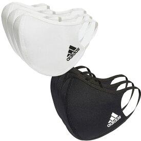 アディダス(adidas) ユニセックス フェイスカバー 3枚組 ウォッシャブルタイプ 洗えるマスク KOH81(20y12m)[次回使えるクーポンプレゼント]