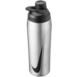 ナイキ(NIKE) ハイパーチャージ チャグボトル 24oz(709ml) ウォーターボトル N100062095624-956 シルバー×ブラック(21y3m)[次回使えるクーポンプレゼント]