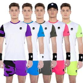 [テニススぺシャル]「海外サイズ」HYDROGEN(ハイドロゲン) 2021 メンズ TECH テック カモフラ柄 半袖Tシャツ T00450(21y7mテニス)[次回使えるクーポンプレゼント]