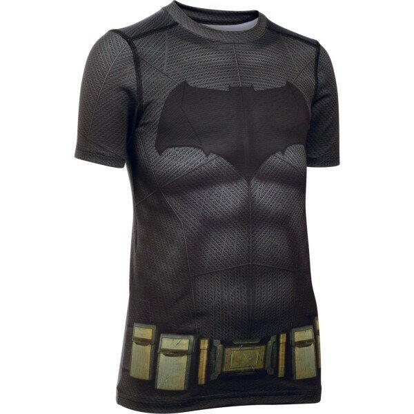 【子供用】アンダーアーマー(UNDER ARMOUR)ジュニア バットマン コンプレッション シャツ 1275497 【コンプレッションシャツ】[次回使えるクーポンプレゼント]