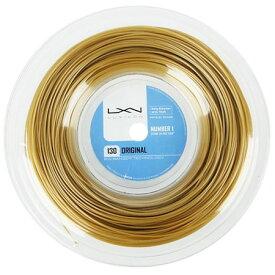 ルキシロン オリジナル(1.30mm) 200Mロール WRZ990900硬式テニス ポリエステル ガット(Luxilon ORIGINAL 200m String Reel)【2016年12月登録】[次回使えるクーポンプレゼント]