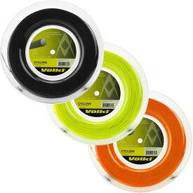 フォルクル サイクロン(1.20mm/1.25mm/1.30mm) 200Mロール 硬式テニス ポリエステルガット【2017年5月登録】[次回使えるクーポンプレゼント]