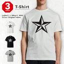 Tシャツ メンズ 半袖 プリント おしゃれ ウィメンズ S M L XL メンズ レディース ファッション デザイン【STAR 星 シンプル 星柄 立体 黒 GOOD DESIGN】【ファッション/オ