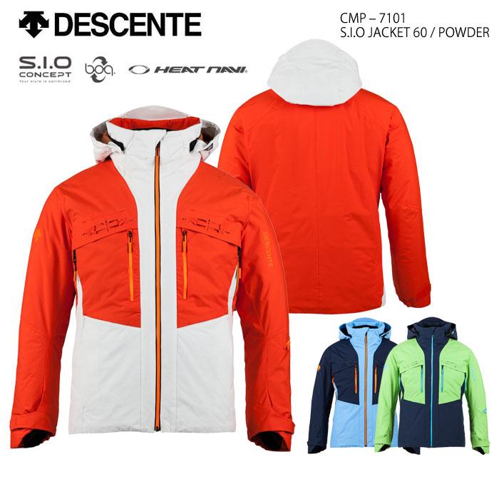 スキーウェア ジャケット/DESCENTE デサント S.I.O JACKET 60/POWDER CMP-7101(2018)