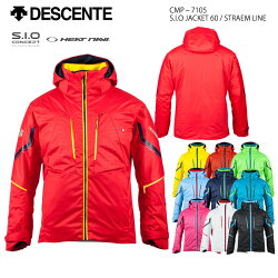 スキーウェアジャケット/DESCENTEデサントS.I.OJACKET60/STRAEMLINECMP-7105(17/18)