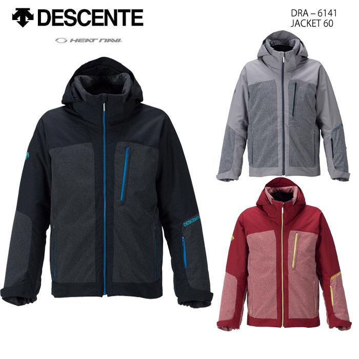 スキーウェア ジャケット/DESCENTE デサント JACKET 60/DRA-6141(16/17)