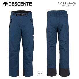 DESCENTE/デサント スキーウェア シェルパンツ/DRC-7751(2019)