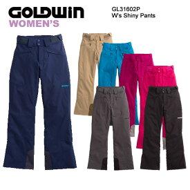 スキーウェア レディースパンツ/GOLDWIN ゴールドウィン W's Shiny Pants GL31602P(16/17)