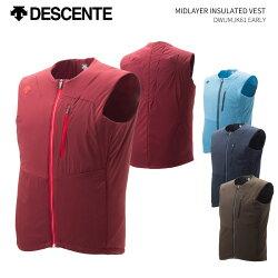 DESCENTE/デサントスキーウェアベスト/DWUMJK61(2019)