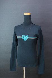 レディス ROSSIGNOL ロシニョール LS Tシャツ 黒