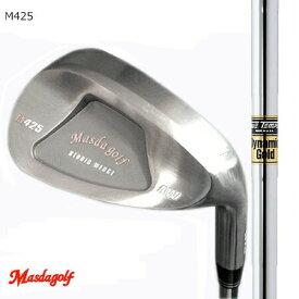 Masudagolf マスダゴルフ スタジオウエッジ M425(ノーメッキ・クロムメッキ)/ダイナミックゴールド【カスタム・ゴルフクラブ】