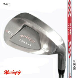 Masudagolf マスダゴルフ スタジオウエッジ M425(ノーメッキ・クロムメッキ)/MODUS 3 モーダス・スリー WEDGE105・115・125【カスタム・ゴルフクラブ】