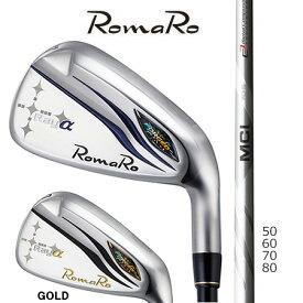 Romaroロマロ Ray αアイアン/Fujikuraフジクラ MCI 50・60・70・80 Iron#5-9・PW 6本セット