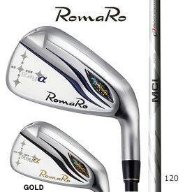 Romaroロマロ Ray αアイアン/Fujikuraフジクラ MCI 120 Iron#5-9・PW 6本セット