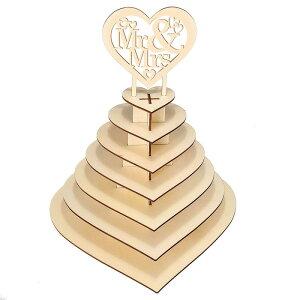 【ハート型チョコレートラック rmt1004】木製 手作り 愛 結婚式 WEDDING ディスプレイ チョコ お菓子 ショップ