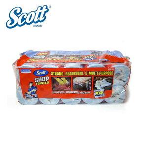 【本州送料無料】コストコ Costco SCOTT カーショップタオル 55シート 10ロール