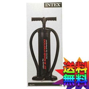 【本州送料無料】コストコ Costco 空気入れ INTEX エアーポンプ DOUBLE QUICK 3 【ITEM/530348】|浮き袋 浮き輪 自転車 バイク ボール エアーベッド