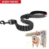 オーストラリアEZYDOG社犬用(ドッグ)ショック吸収リードゼロショック64cm|平紐型ウェットスーツ素材