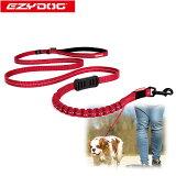 オーストラリアEZYDOG社犬用(ドッグ)ショック吸収リード「ゼロショックライト180cm」|平紐型ウェットスーツ素材