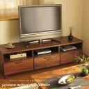 テレビボード ウォールナット 無垢材 150 幅テレビボード テレビ台 リビング収納 リビングボード ローボード 収納 ウ…
