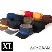 【即納】ANAGRAMアナグラムダックワークキャップダックCAPメンズレディース帽子F57cm〜60cm