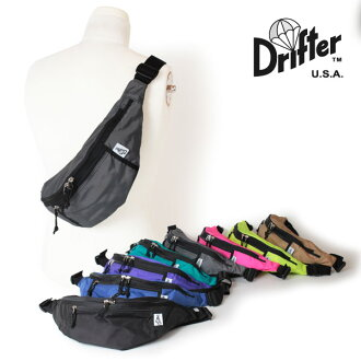 ★ Drifter drifter body bag bum-bag hips bag Westpac WAIST PACK DFV1550 during ★ up to 2,000 yen OFF coupon distribution to increase entry P19 times