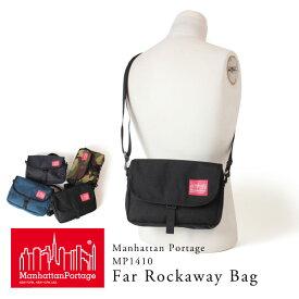 クーポン対象 マンハッタンポーテージ Manhattan Portage 日本正規品 ショルダーバッグ 斜めがけ Far Rockaway Bag MP1410 ミニショルダー メンズ レディース ポーチ