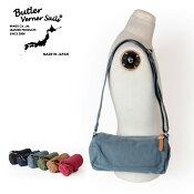ButlerVernerSails/メンズ/レディース/キャンバスミニロールショルダーバッグ/反応染め/ボディバッグ/MADEINJAPAN/日本製/バトラーバーナーセイルズ