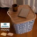スタックストー オンバケット mooq Mサイズ stacksto baquet [オンバケットフタ 蓋 ごみ箱 ゴミ箱 衣装ケース 収納ケ…