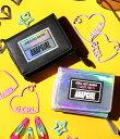 【5%OFF】ワッペン付き三つ折りミニ財布【アナップガール ANAP GiRL ガール キッズ女の子 ティーン 黒 ブラック ミッ…
