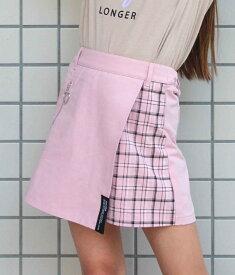 【60%OFF】ANAP GiRL アナップガール ハーフチェックスカパン 女の子 ガール 春夏 ボトムス ショートパンツ スカート スカパン ミニスカ 短パン ティーンズ 中学生 韓国 ファッション ピンク/ベージュ S/M