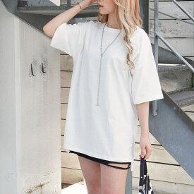【50%OFF】ANAP アナップ サイドスリットオーバーサイズTシャツ レディース 春夏 トップス Tシャツ アッシュブラック/ホワイト/モカ onesize tシャツ