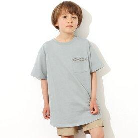 【50%OFF】anap mimpi アナップミンピ 【KIDS】オルテガ刺繍ラウンドヘムビックTシャツ レディース 春夏 トップス Tシャツ カーキ/グレージュ/ダークグレー/ホワイト S/M/L tシャツ