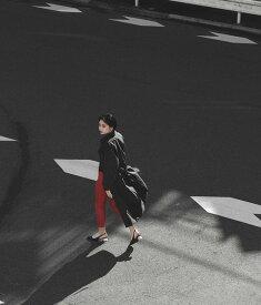 【30%OFF】Settimissimo セッティミッシモ 合繊ステンカラーコート レディース 春夏 アウター コート アイボリー/ブラック onesize
