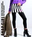 2パターンスカッツ【アナップガール ANAP GiRL ガール ボトムス キッズ女の子 ティーン 黒 ブラック ブラック/ホワイ…