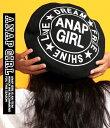 【50%OFF】サークルロゴベレー帽【アナップガール ANAP GiRL ガール その他 キッズ女の子 ティーン 黒 赤 ブラック …