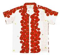 手ぬぐいアロハシャツ「まっかなトマト」