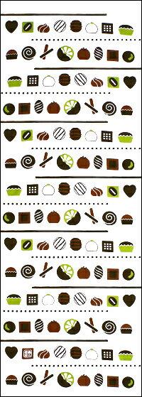 【2021年梅春新作】手ぬぐい「ショコラビター」チョコレート/バレンタイン/お菓子/スイーツ/chocolat/手拭/手拭い/てぬぐい