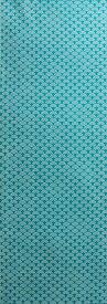手ぬぐい「青海波 地染浅葱(あさぎ)色」古典柄/お祭り/粋/江戸/てぬぐい