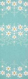 手ぬぐい「gardenia 空色」くちなし/花/贈り物/てぬぐい
