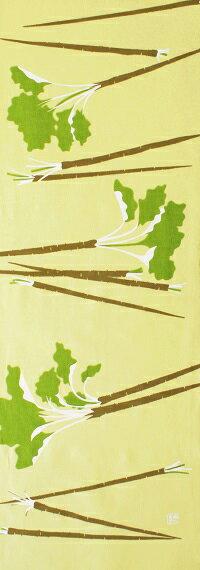 手ぬぐい「滝野川ごぼう」江戸野菜/ゴボウ/牛蒡/根菜/手拭い/てぬぐい/tenugui