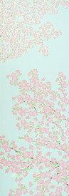手ぬぐい「空に桜満開(さくらまんかい)」海外のお土産に/サクラサク/Cherry Blossoms/お花見/春/手拭/てぬぐい
