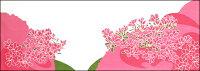 【2021年新作】手ぬぐい「つつじ咲く」ツツジ/躑躅/初夏/街路樹/横柄/てぬぐい