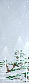 手ぬぐい「雪吊り(ゆきづり)」