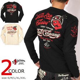 テッドマン TEDMAN シグナルコラボ ロンT TDLS-334 エフ商会 長袖 Tシャツ ロングTシャツ
