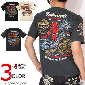TEDMAN テッドマン 奈良の大仏 半袖Tシャツ TDSS-496 エフ商会 キャッシュレス ポイント還元