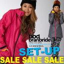 """[スノーボードウェア スキーウェア 上下セット]■旧作売尽しSALE 15-16!モデル■""""branbride ブランブライド""""[15-16 NEW MODEL..."""