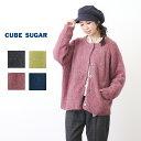 CUBE SUGAR モヘア風ニットドルマンスリーブカーディガン(4色)【キューブシュガー】【PL】